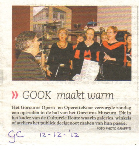 GOOK in Grocumse Courant